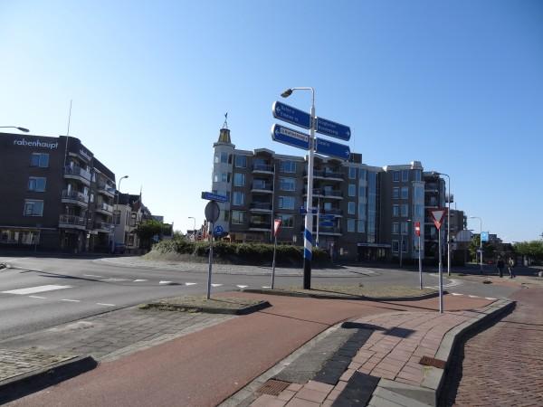 Stationsplein Coevorden (Nederland)