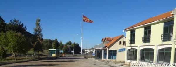 Albanees - Macedonische grens (Qafë Thanë)
