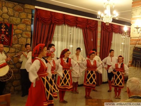 Фолклор в Македония