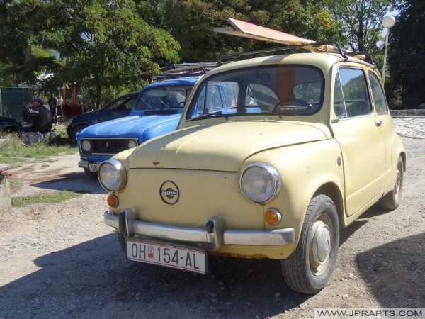 Oude Auto's in Macedonië