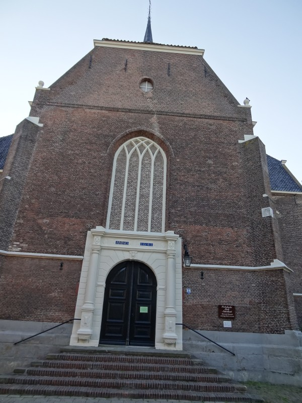 Eingang Reformierten Kirche Coevorden (Die Niederlande)