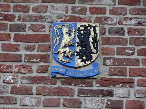 Wapen Karel van Egmond (Kasteel Coevorden, Nederland)