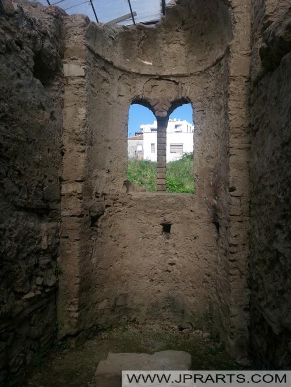 Détail de l'Amphithéâtre de Durrës (Albanie)