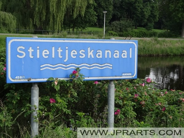 Bord Stieltjeskanaal (Nederland)