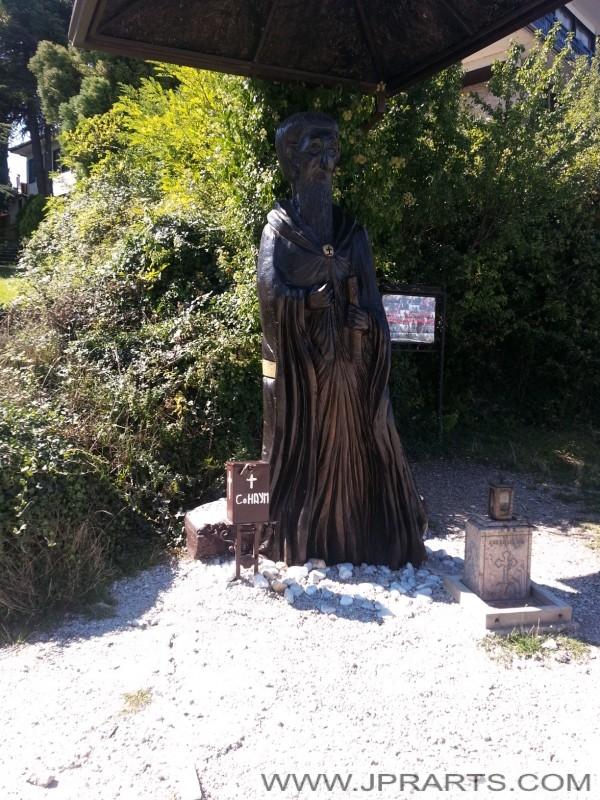 статуа на Свети Наум (Македонија)