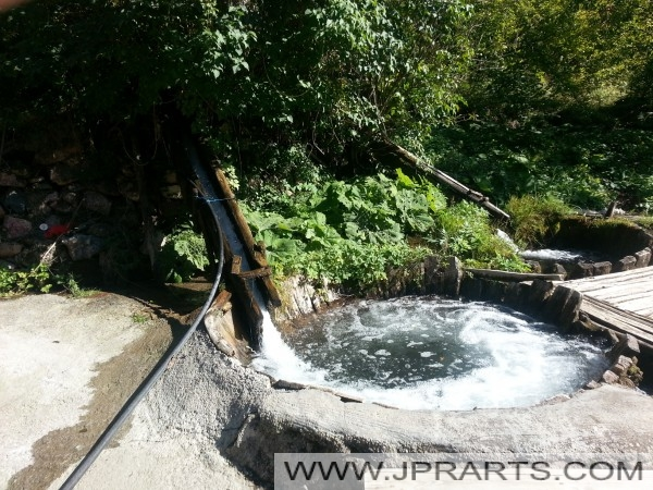 Natuurlijke Wasmachine in Svinista (Macedonië)