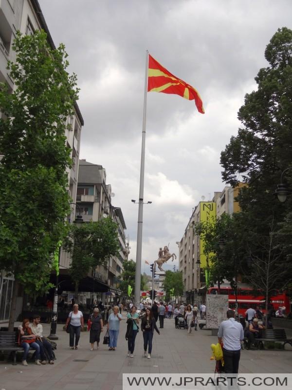 Photos Shopping Street Skopje (Macedonia)
