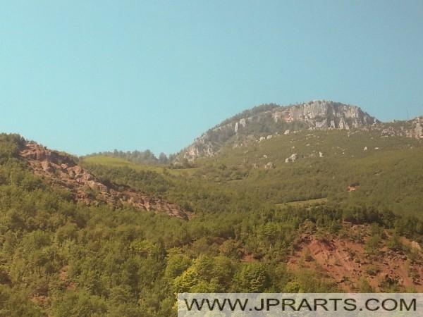 албанскиот планините
