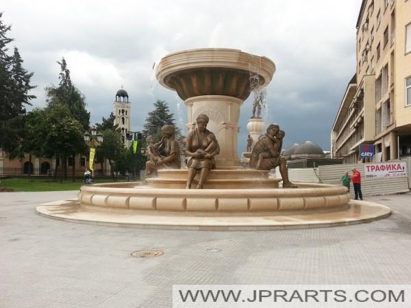 Фонтаната на Мајките од Македонија (Скопје)