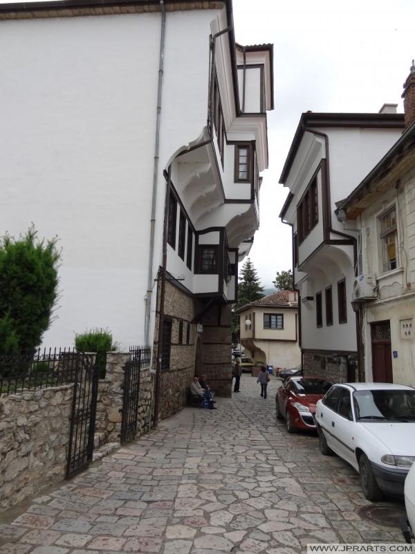 Nationaal Museum van Ohrid in het Robevci Huis (Macedonië)