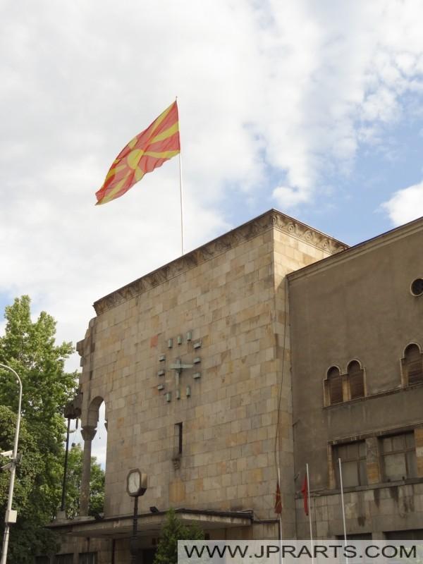 Alten Bahnhof Skopje (Mazedonien)