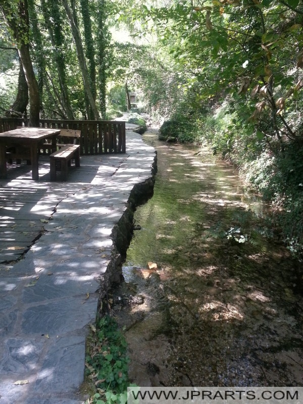 излетничко место на изворите на вода Вевчани (Македонија)