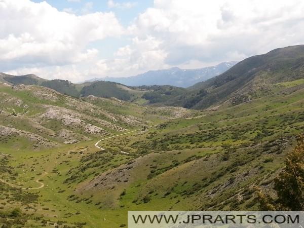 마케도니아의 산