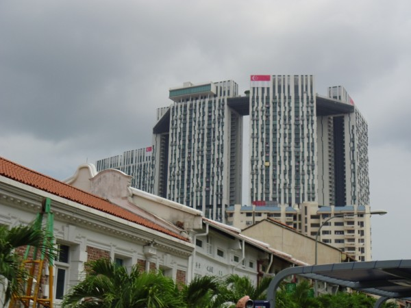 Apartment buildings Singapore City