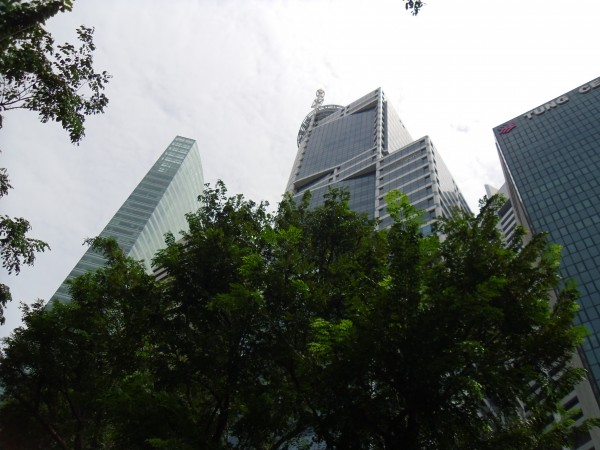 Business District Singapore City