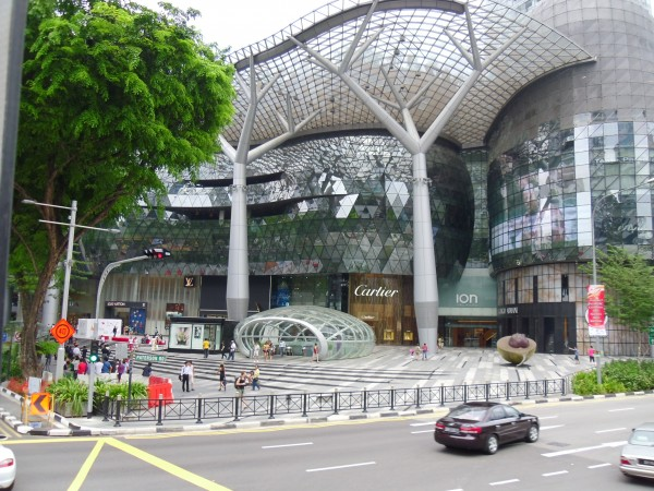 Ion Orchard Shopping Centre entrance