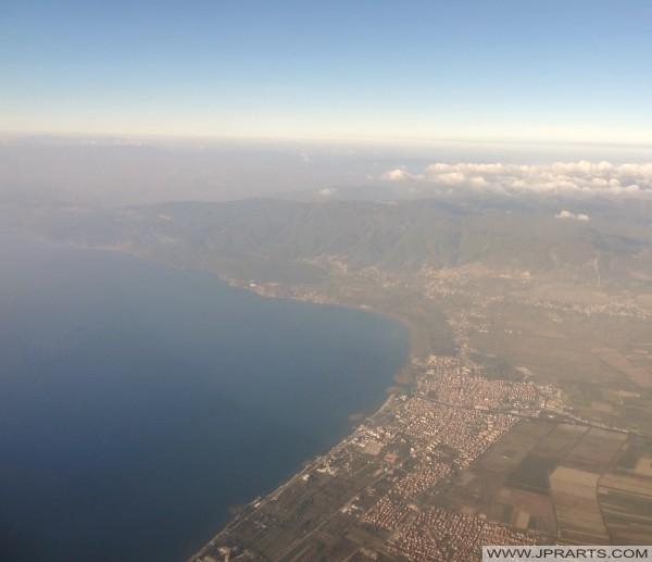 pamje ajrore Struga (Maqedoni)