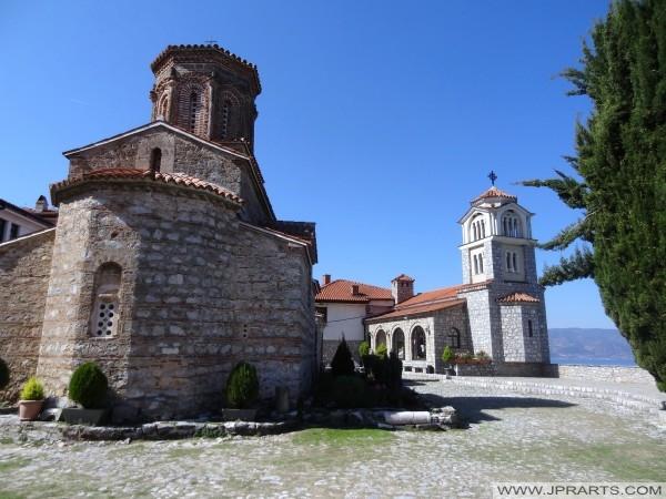 Budovy sv Naum kláštera (Makedonie)