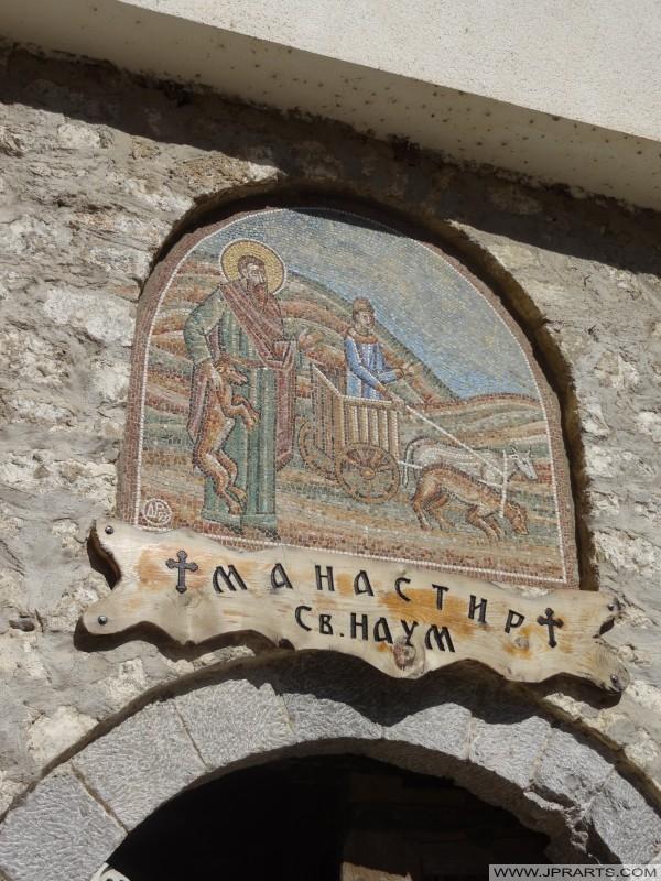 Детал од Свети Наум (Македонија)