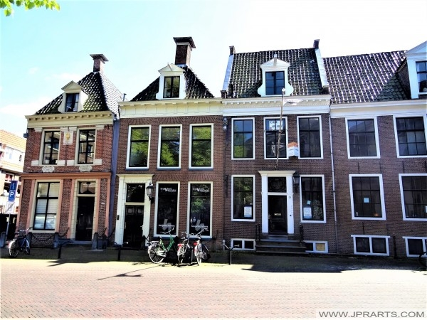 Old Houses in Leeuwarden, The Netherlands