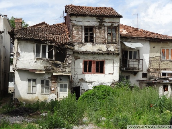 Stary dom w Struga (Macedonia)