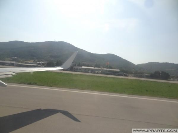 Pas startowy Ohrid Paweł Apostoł lotniska (Macedonia)