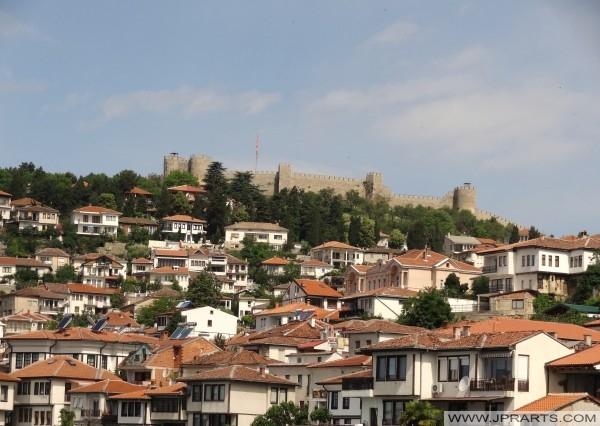 Крепост на Самуил и стария център на Охрид (Македония)