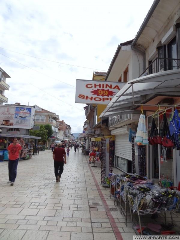 Pazar në Strugë (Maqedoni)