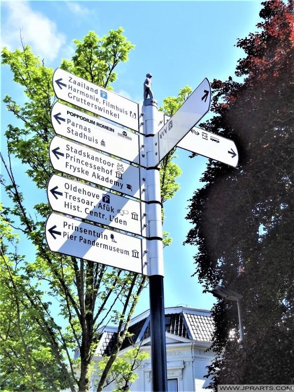 Wandelroutes in Leeuwarden, Nederland