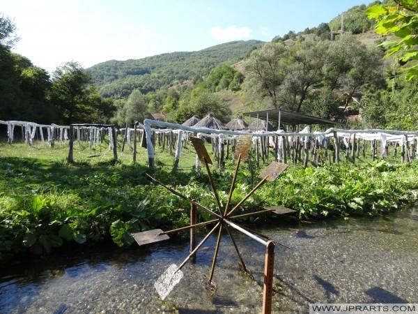Sušenje je u Svinista (Makedonija)