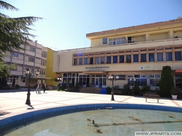 """Qendra Kulturore """"Lasgush Poradeci"""" + Biblioteka """"Mitrush Kuteli"""" (Pogradec, Shqipëria)"""