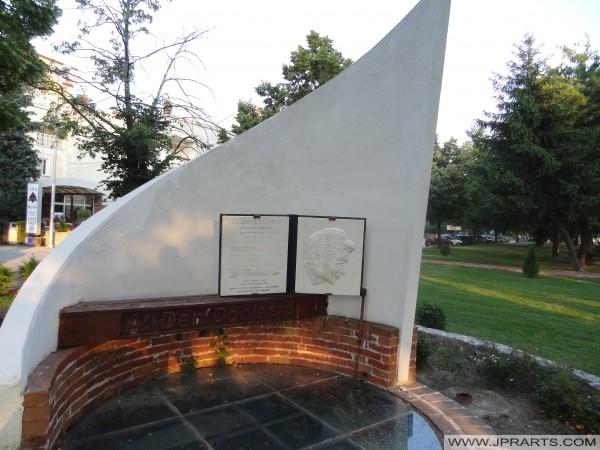 Споменик А. ден Долард (Охрид, Македонија)