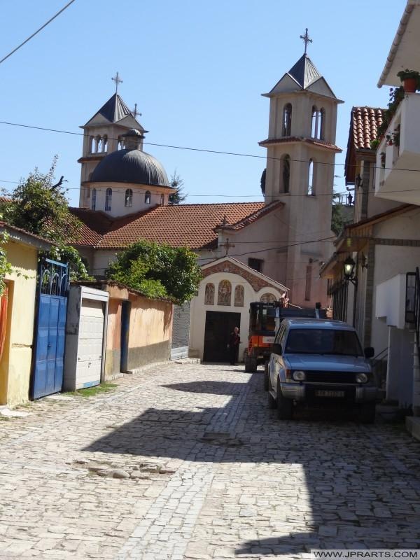 Oude Kerk in Pogradec (Albanië)