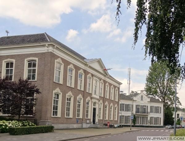 Assen, Hollanda güzel binalar