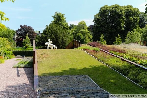 parku obok Muzeum Drenthe (Assen, Holandia)