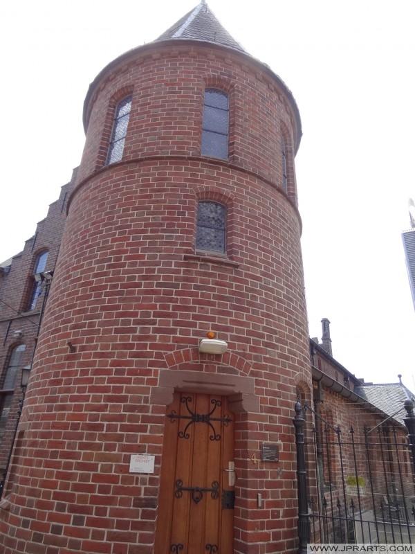 Entrada del Archivo Drenthe en Assen, Países Bajos