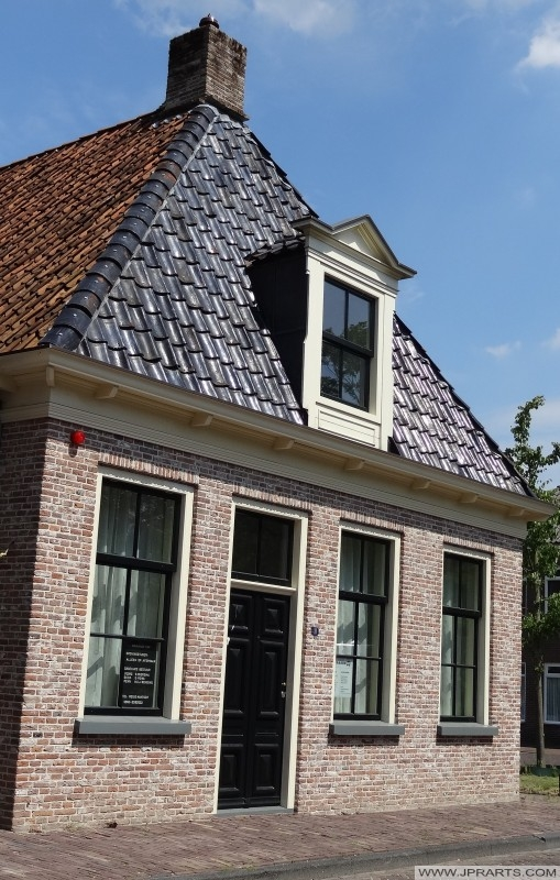 vecchio edificio nel Kloosterstraat in Assen, Paesi Bassi