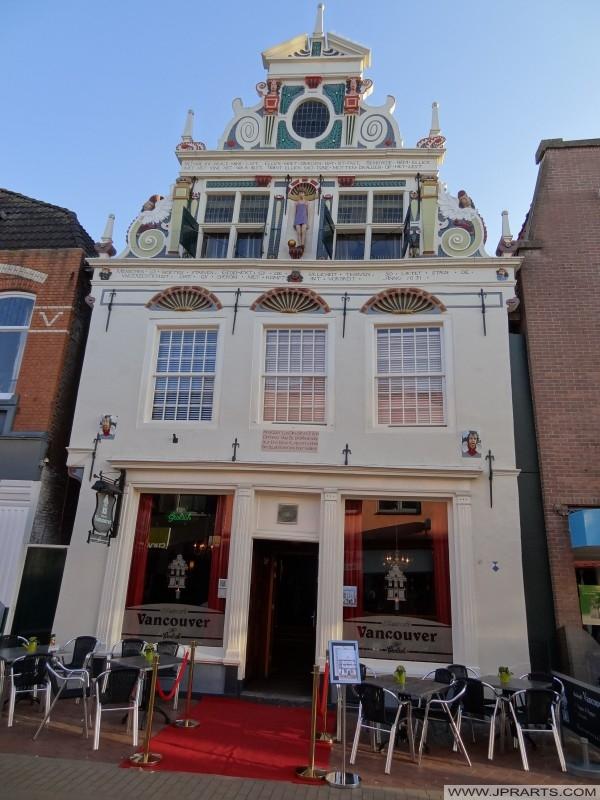 Vancouver Cafe (monumento) en Coevorden, Países Bajos