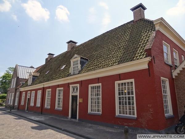 antigua casa de campo (ca. 1820), en Assen, Países Bajos