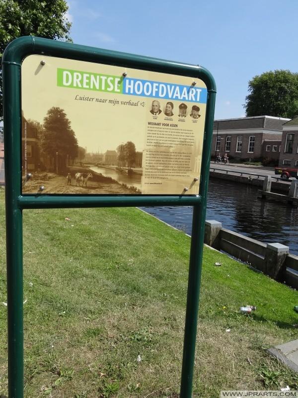 bilgi işareti Drentse Hoofdvaart (Assen, Hollanda)
