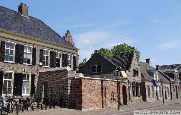монастырской стены в Ассене (Нидерланды)