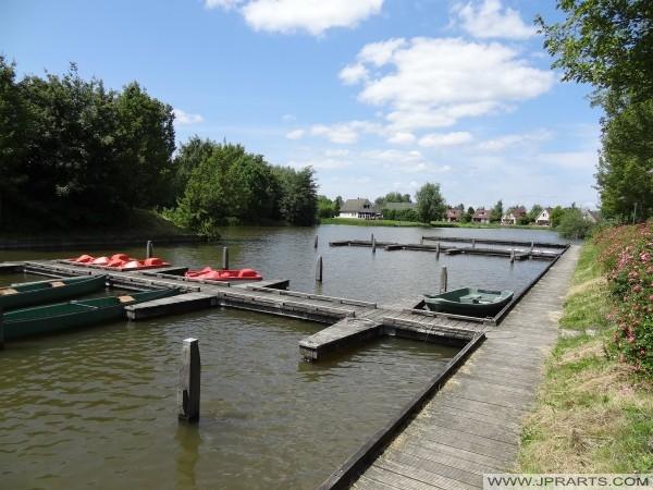 Bootsverleih in Parc Sandur Centrum (Emmen, Niederlande)