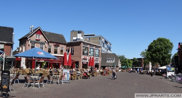 Café De Brasserie in Emmen, Nederland