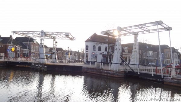 Emmabrug en Prinsenbrug Meppel (Nederland)