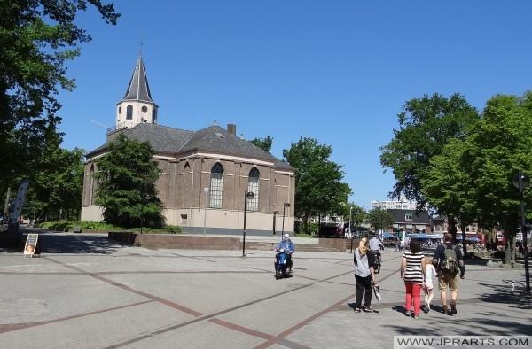 Grote of Pancratiuskerk in Emmen, Nederland