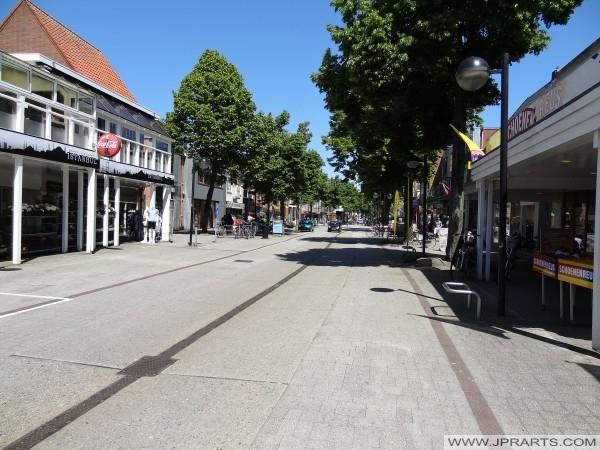 la rue principale à Emmen, Pays-Bas