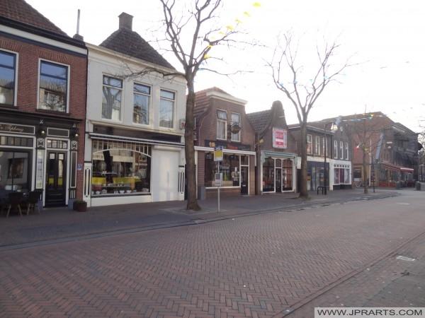 Prinsengracht'ın Meppel, Hollanda