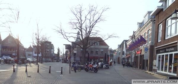 Platz in Meppel, Niederlande
