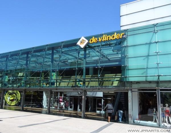 Emmen, Hollanda alışveriş merkezi De Vlinder
