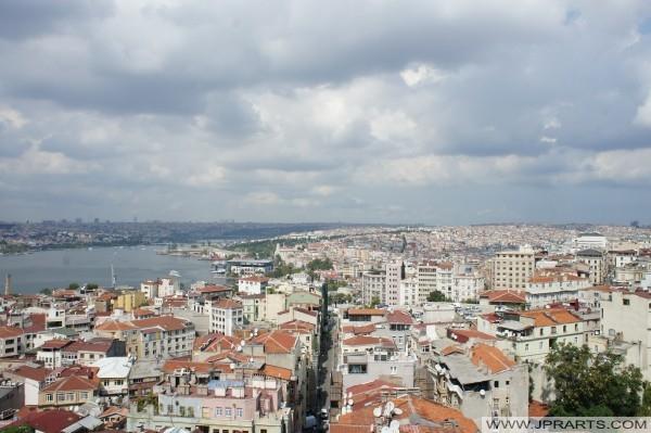 Istanbul, Türkiye havadan görünümü